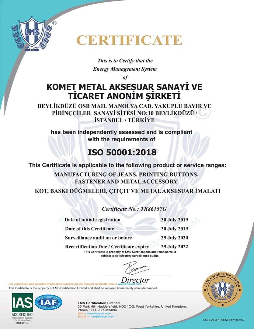 TR86157G-KOMET METAL AKSESUAR...