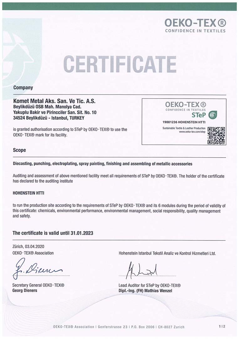 STeP Certificate_Komet Metal Aks. San. Ve Tic. A.S.-1